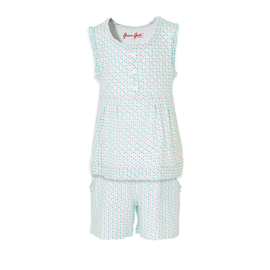 greengate jersey kinderpyjama mimi pale blue online kaufen emil paula. Black Bedroom Furniture Sets. Home Design Ideas