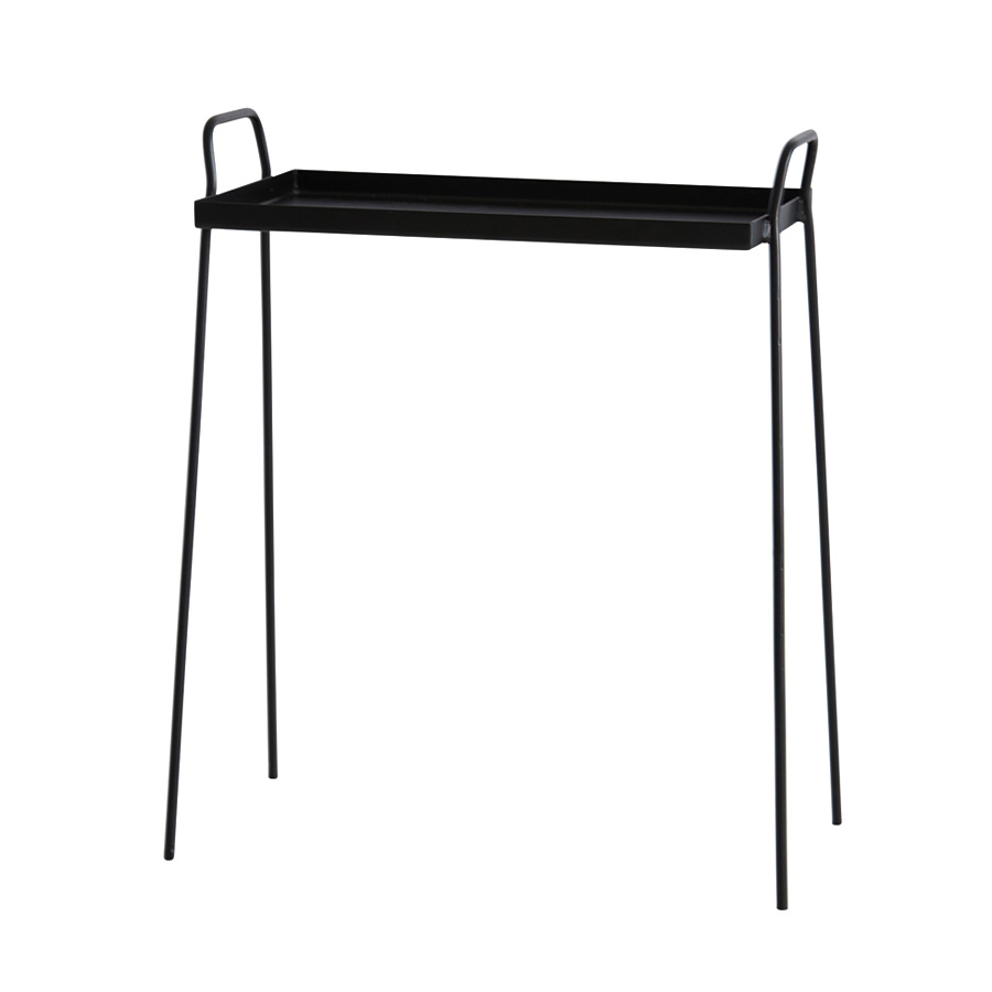 house doctor beistelltisch bak schwarz online kaufen emil paula. Black Bedroom Furniture Sets. Home Design Ideas