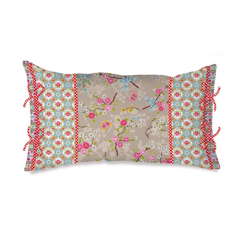 emil paula pip studio kissen chinese blossom khaki 35. Black Bedroom Furniture Sets. Home Design Ideas