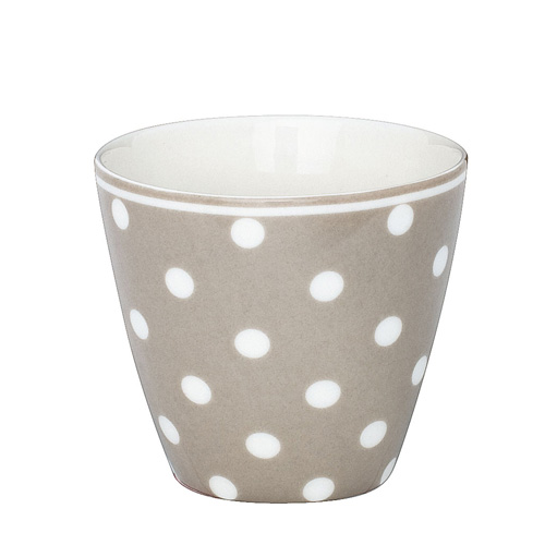 greengate latte cup becher naomi beige online kaufen. Black Bedroom Furniture Sets. Home Design Ideas