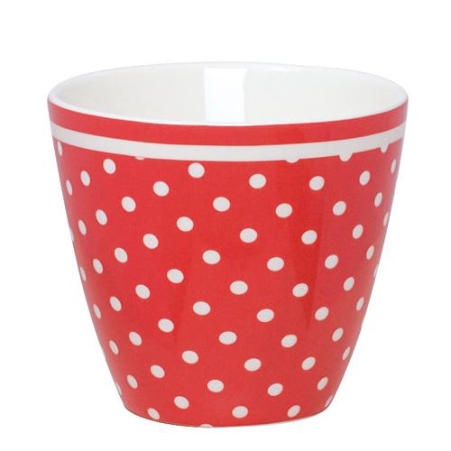 greengate latte cup becher spot red online kaufen emil. Black Bedroom Furniture Sets. Home Design Ideas