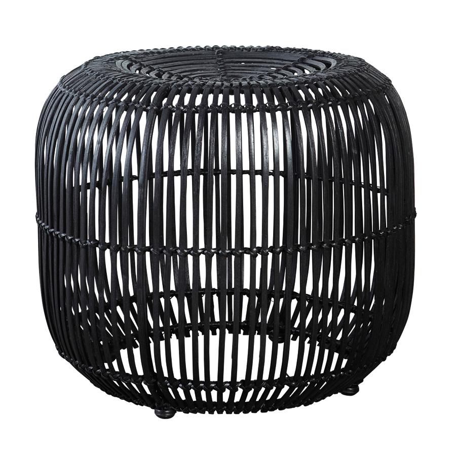 house doctor moderner hocker schwarz online kaufen emil. Black Bedroom Furniture Sets. Home Design Ideas