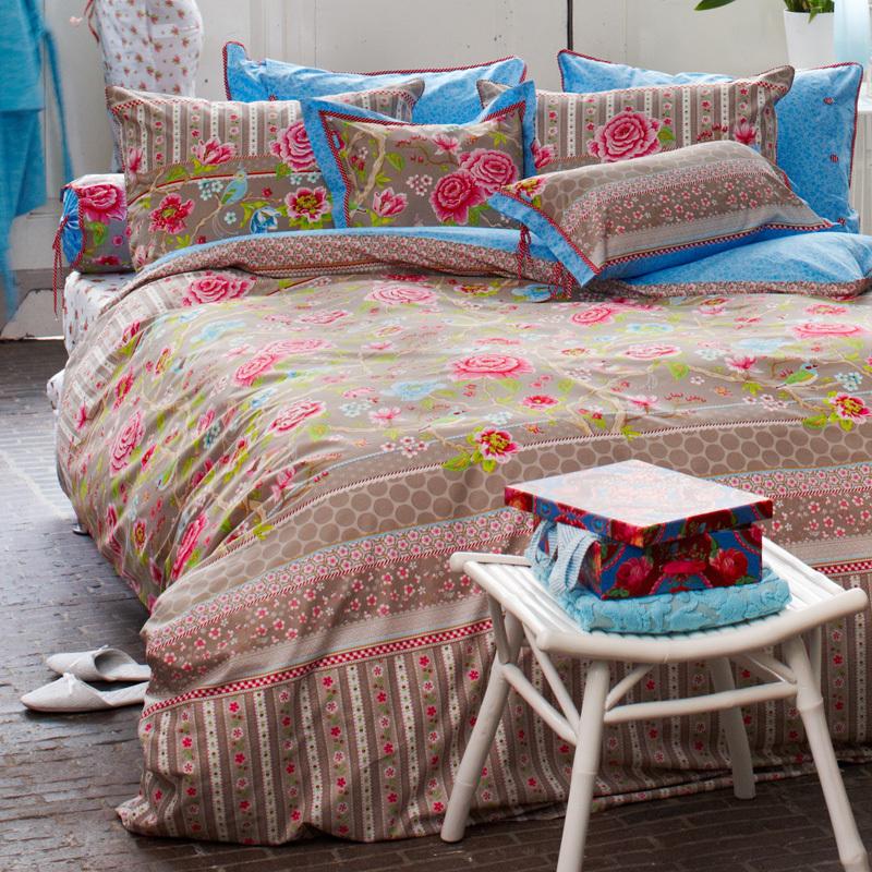 pip studio bettw sche botanical garden khaki online kaufen. Black Bedroom Furniture Sets. Home Design Ideas