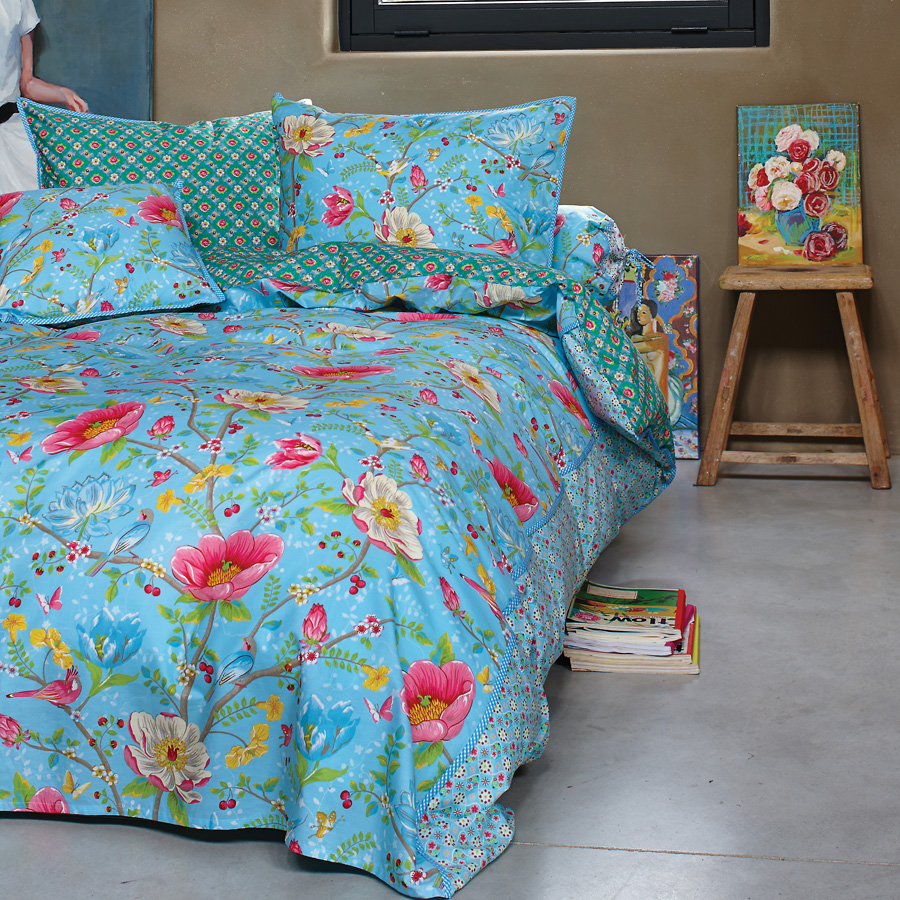 pip studio bettw sche chinese garden blue online kaufen. Black Bedroom Furniture Sets. Home Design Ideas