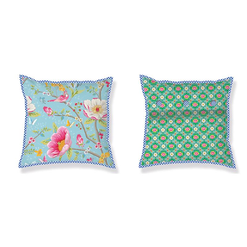 pip studio kissen chinese garden blue 45 x 45 online. Black Bedroom Furniture Sets. Home Design Ideas