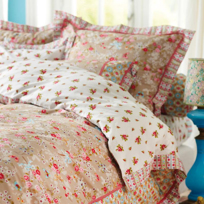 pip studio bettw sche chinese blossom khaki online kaufen. Black Bedroom Furniture Sets. Home Design Ideas