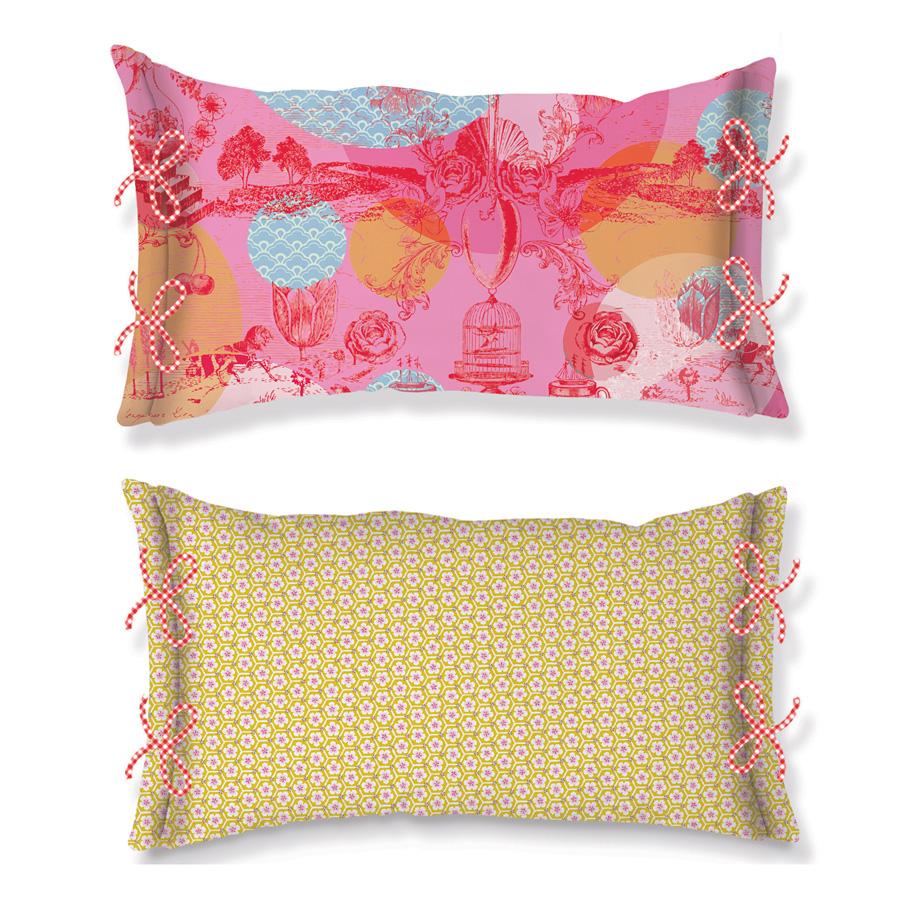 pip studio kissen le histoire de pip pink 35 x 60 online. Black Bedroom Furniture Sets. Home Design Ideas