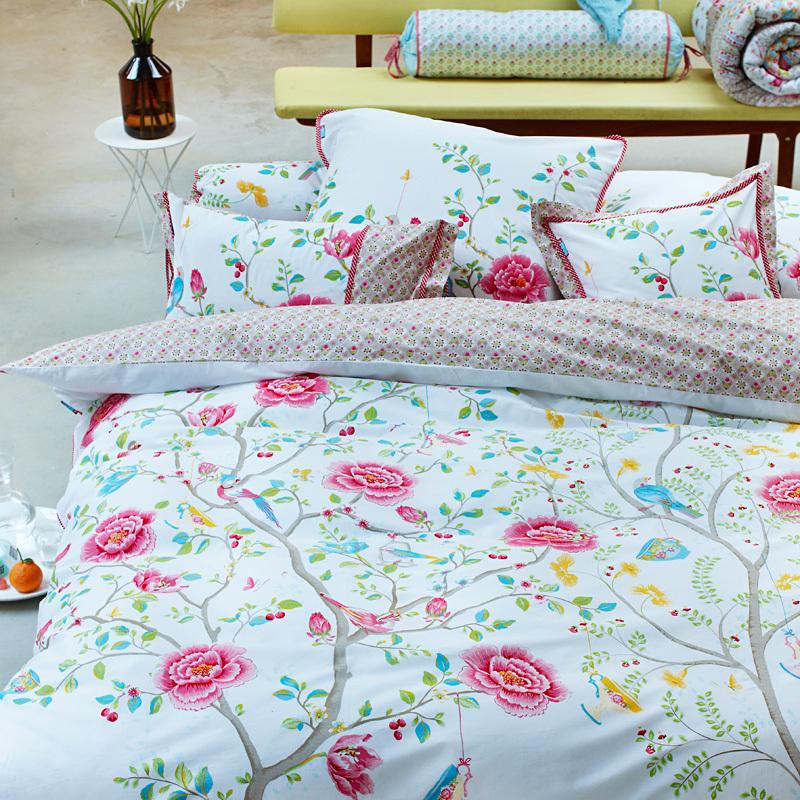 pip studio bettw sche morning glory white online kaufen. Black Bedroom Furniture Sets. Home Design Ideas