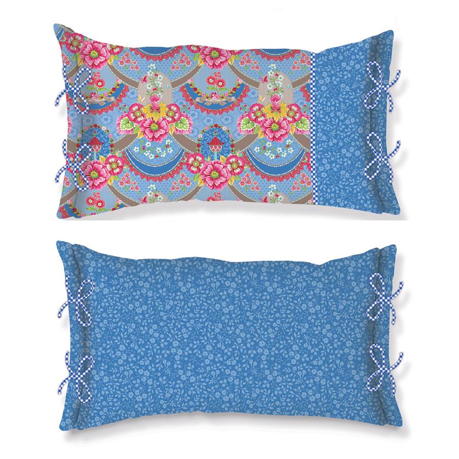 pip studio kissen pip garland blue 35 x 60 online kaufen. Black Bedroom Furniture Sets. Home Design Ideas