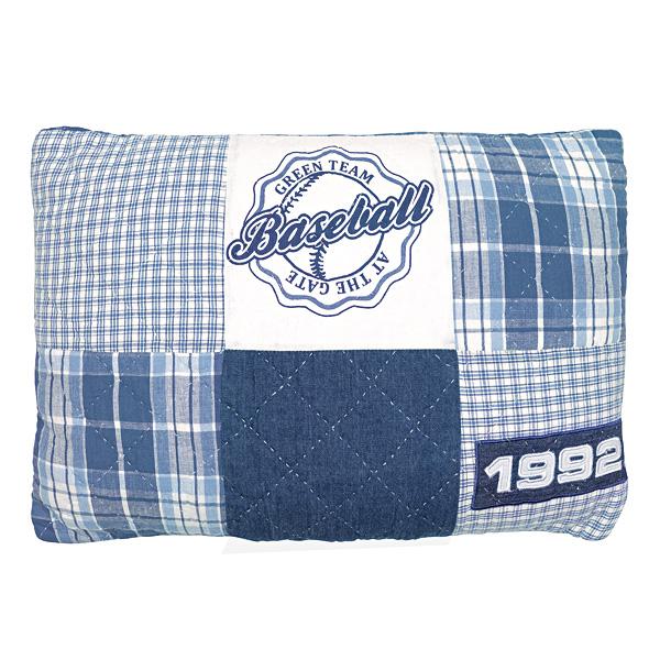 greengate kissen baseball blue 40 x 60 cm online kaufen emil paula. Black Bedroom Furniture Sets. Home Design Ideas
