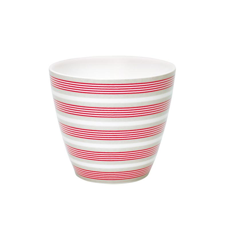 emil paula greengate latte cup becher zoe linen. Black Bedroom Furniture Sets. Home Design Ideas