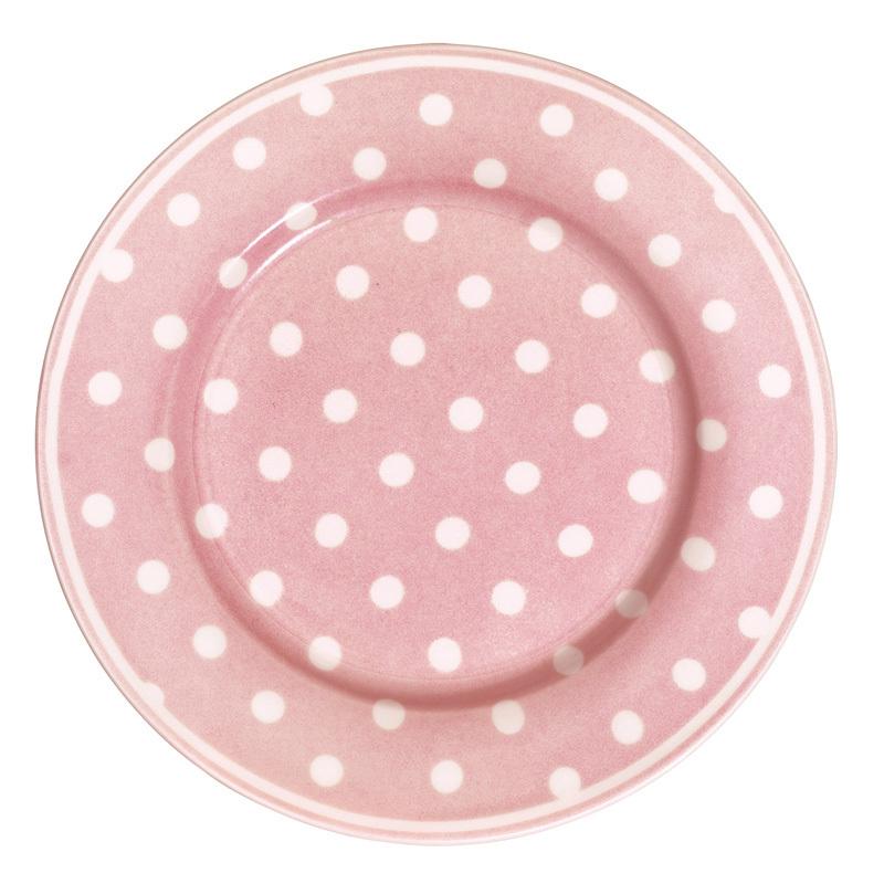 greengate porzellan teller naomi pink online kaufen emil paula. Black Bedroom Furniture Sets. Home Design Ideas