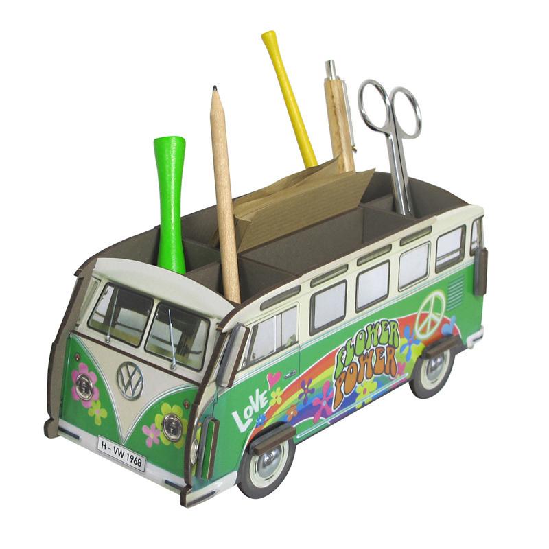 werkhaus stiftebox hippie bus online kaufen emil paula. Black Bedroom Furniture Sets. Home Design Ideas