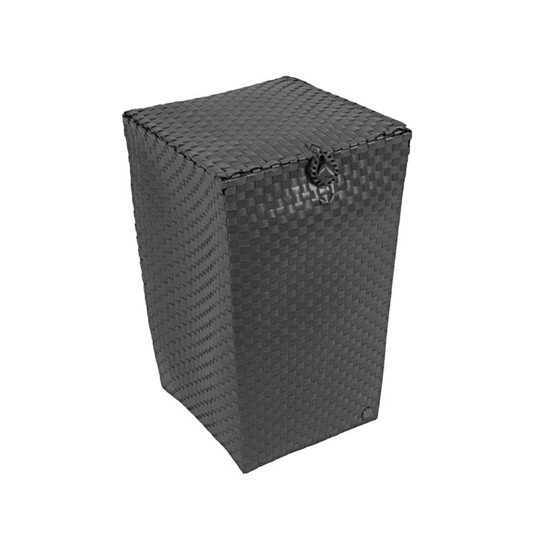 handed by w schekorb mit deckel venice darkgrey online. Black Bedroom Furniture Sets. Home Design Ideas