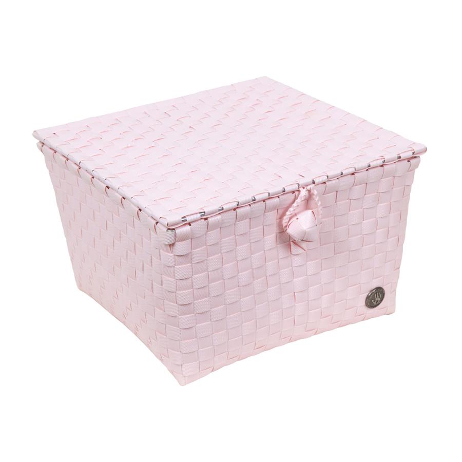 handed by korb mit deckel pisa gr 2 powder pink online. Black Bedroom Furniture Sets. Home Design Ideas