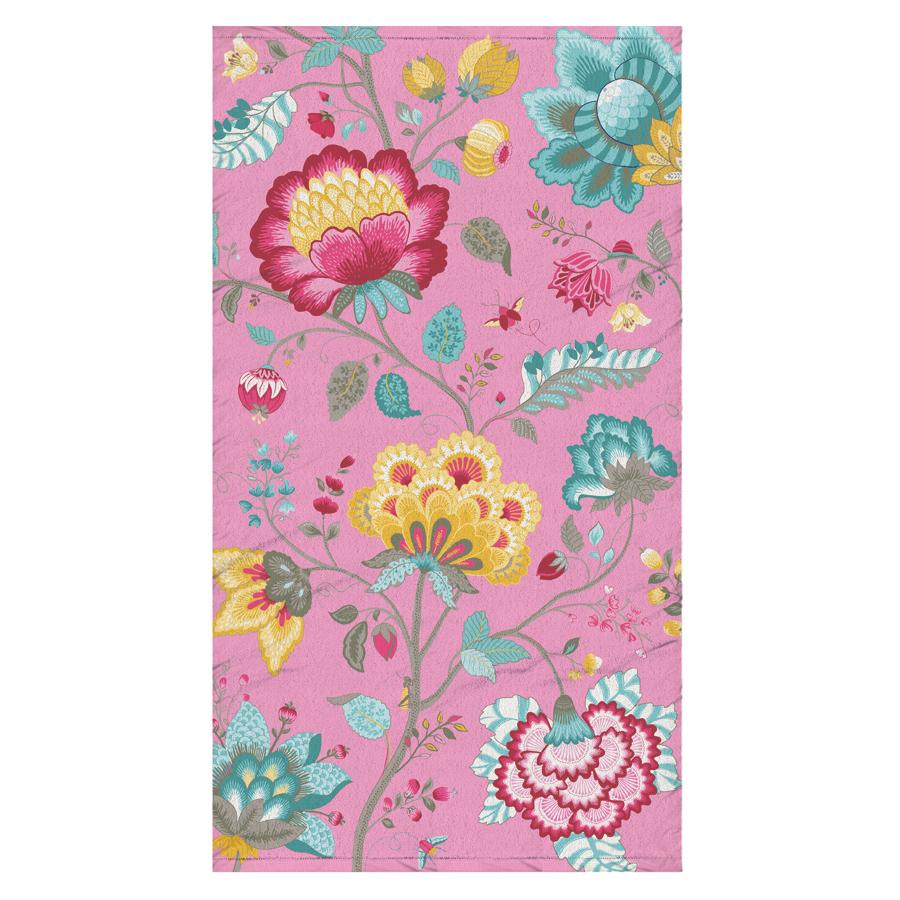 pip studio strandlaken floral fantasy pink online kaufen emil paula. Black Bedroom Furniture Sets. Home Design Ideas