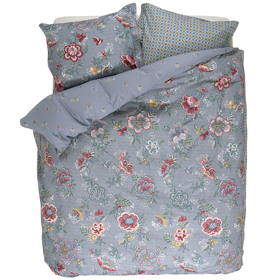 pip studio bettw sche berry bird blue online kaufen emil. Black Bedroom Furniture Sets. Home Design Ideas