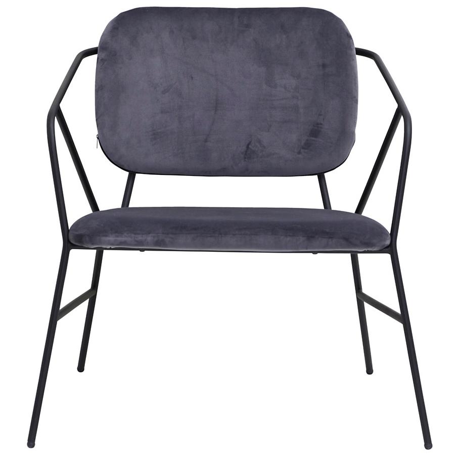 house doctor loungesessel klever grau online kaufen emil. Black Bedroom Furniture Sets. Home Design Ideas