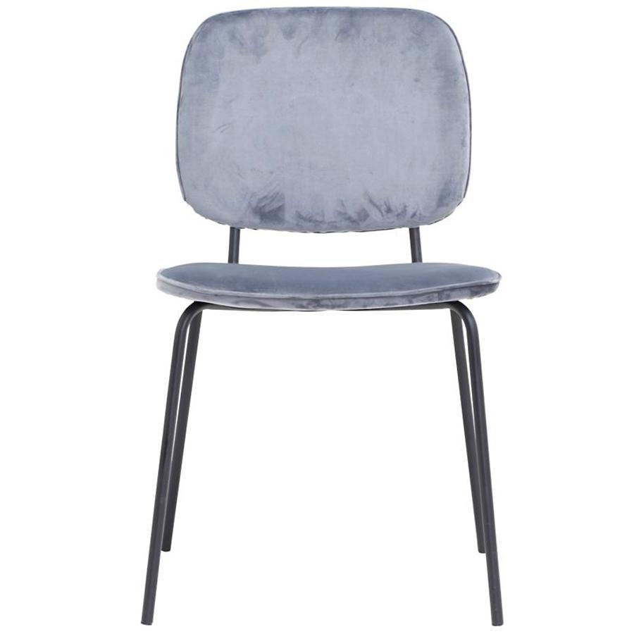 house doctor stuhl comma grau online kaufen emil paula. Black Bedroom Furniture Sets. Home Design Ideas