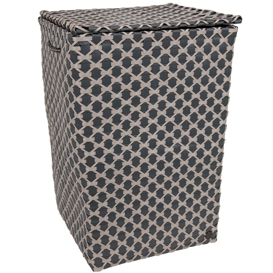 handed by lyon w schekorb mit deckel dark grey sand online kaufen emil paula. Black Bedroom Furniture Sets. Home Design Ideas