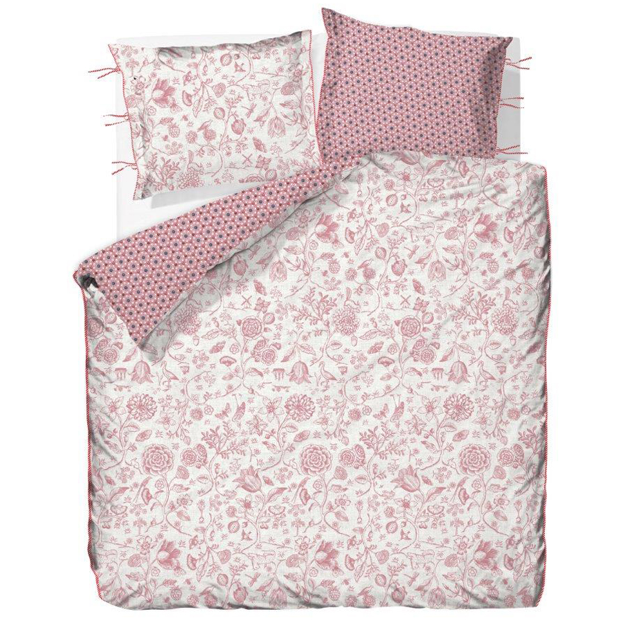 pip studio bettw sche buttons up pink online kaufen emil paula. Black Bedroom Furniture Sets. Home Design Ideas