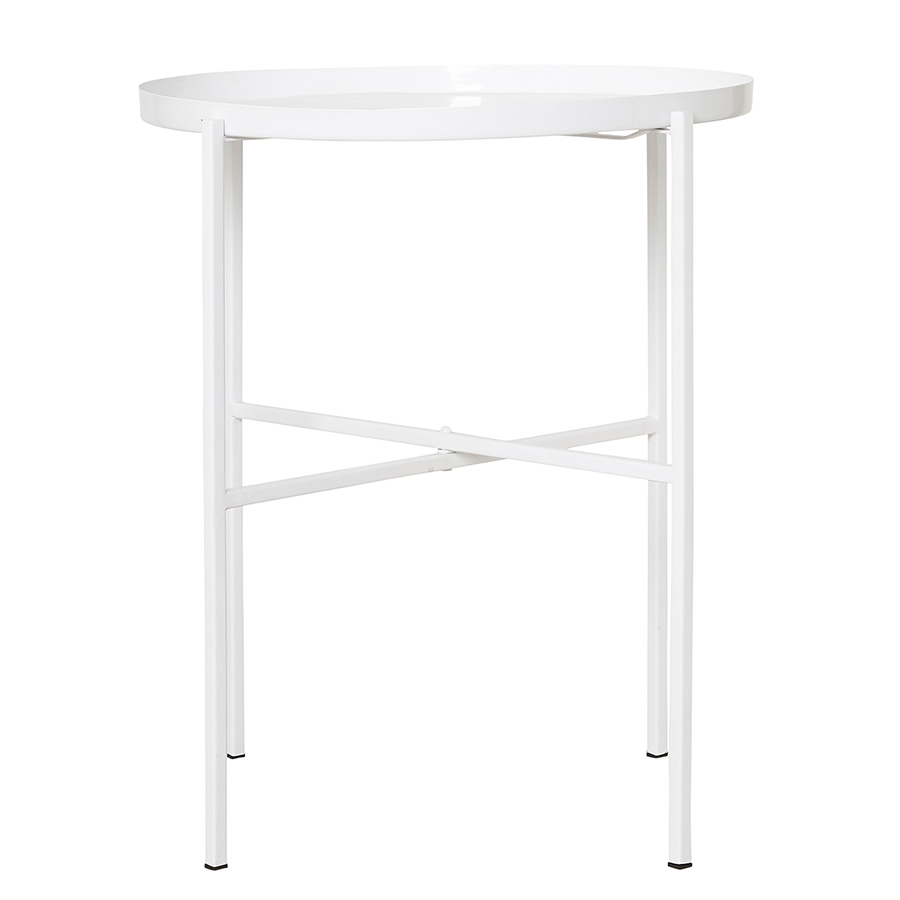 house doctor serviertisch all white online kaufen emil paula. Black Bedroom Furniture Sets. Home Design Ideas