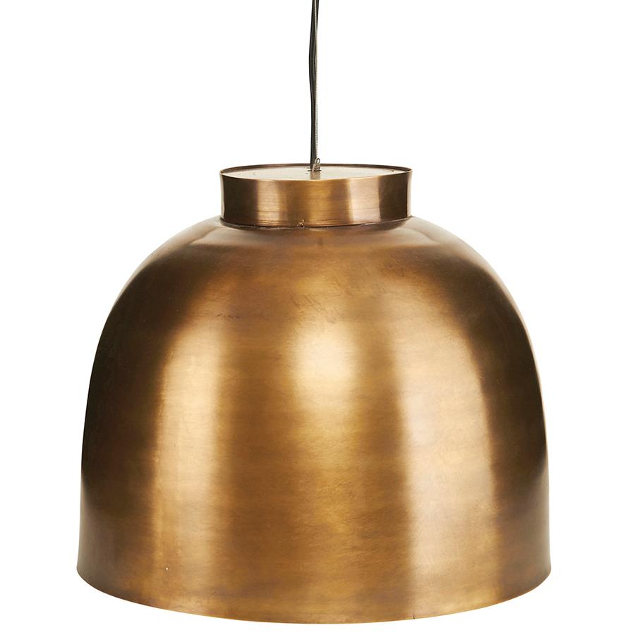 "House Doctor Messing Lampe""BOWL"" online kaufen Emil& Paula"