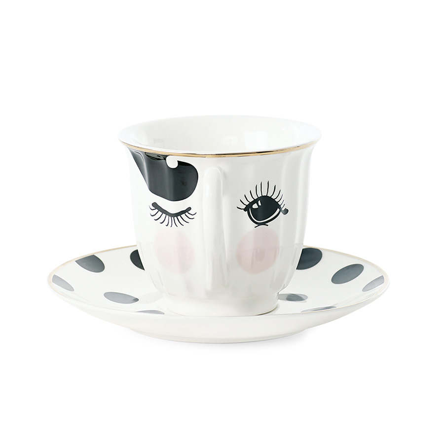 miss toile kaffeetasse mit untertasse eyes online kaufen. Black Bedroom Furniture Sets. Home Design Ideas