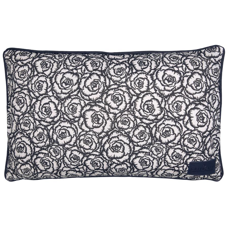 gate noir by greengate kissen blossom grey 30x50 online kaufen emil paula. Black Bedroom Furniture Sets. Home Design Ideas