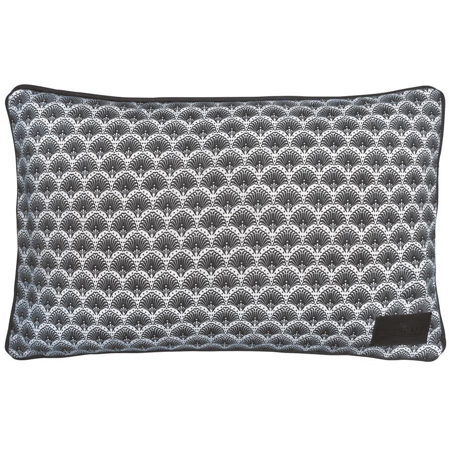 gate noir by greengate kissen elvina grey 30x50 online kaufen emil paula. Black Bedroom Furniture Sets. Home Design Ideas