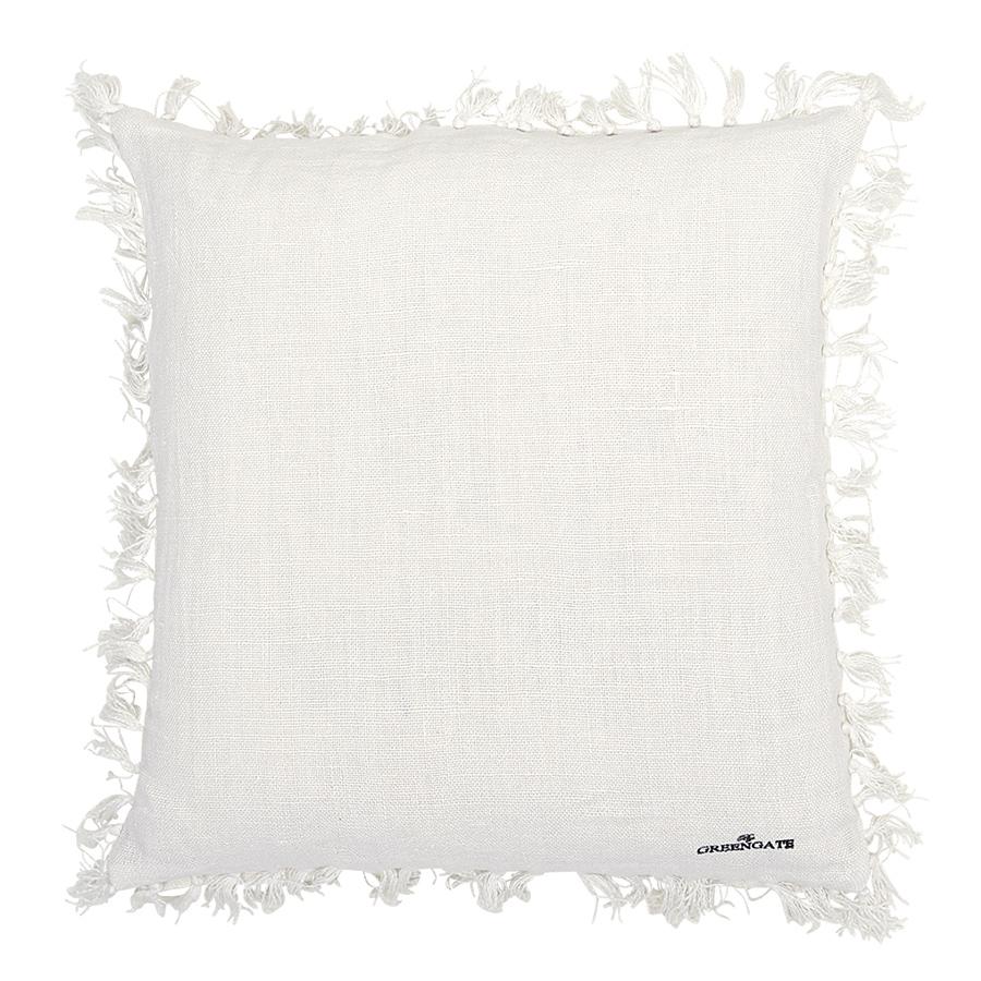 greengate kissenh lle heavy linen white 50 x 50 cm online kaufen emil paula. Black Bedroom Furniture Sets. Home Design Ideas