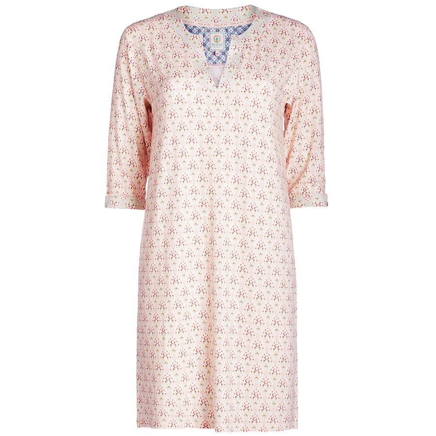 pip studio nachthemd 3 4 rmel deirdre mumbai heart pink s online kaufen emil paula. Black Bedroom Furniture Sets. Home Design Ideas