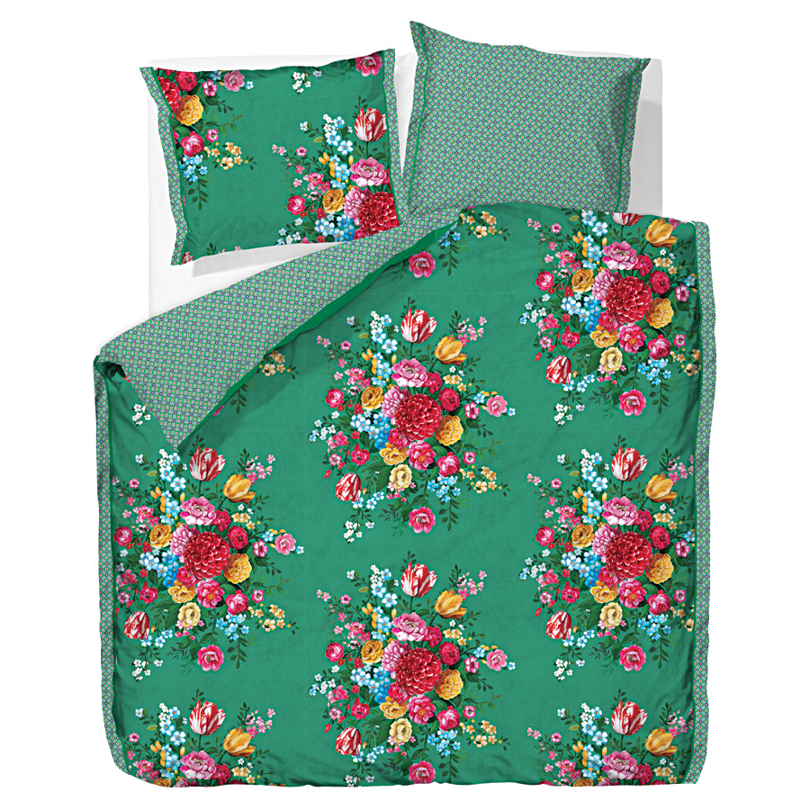 pip studio bettw sche dutch painters green 135 x 200 cm. Black Bedroom Furniture Sets. Home Design Ideas