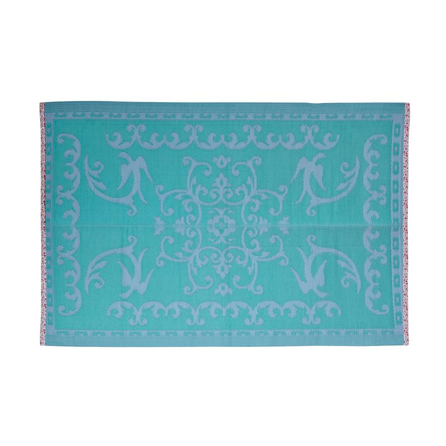 Rice KunststoffTeppich Aqua and Soft Blue online kaufen
