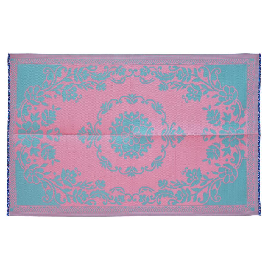 rice kunststoff teppich pink and mint online kaufen emil. Black Bedroom Furniture Sets. Home Design Ideas