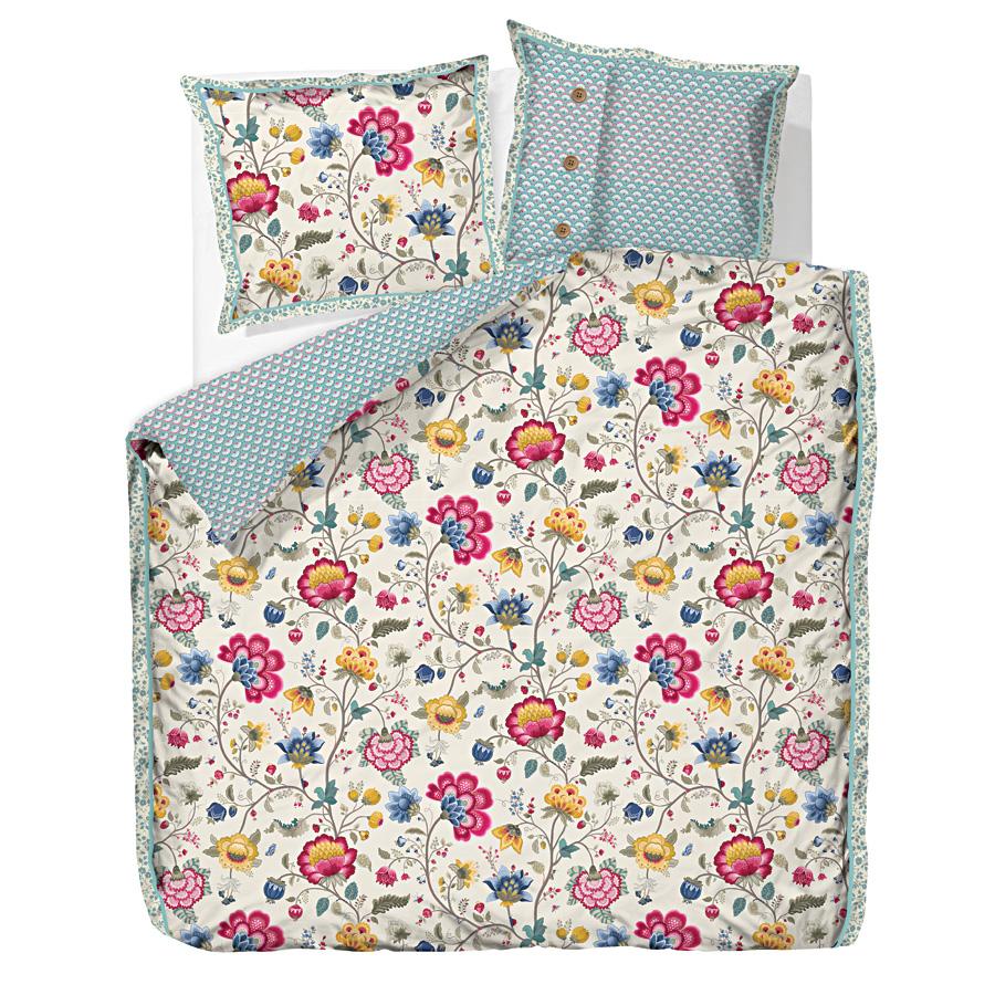 pip studio bettw sche floral fantasy ecru online kaufen. Black Bedroom Furniture Sets. Home Design Ideas