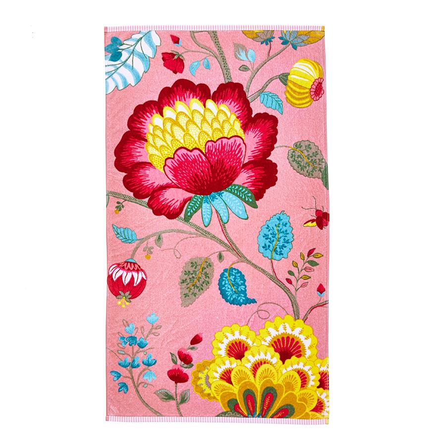 pip studio handtuch floral fantasy pink online kaufen emil paula. Black Bedroom Furniture Sets. Home Design Ideas