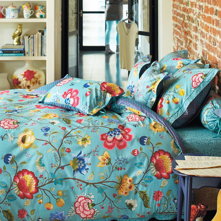 pip studio bettw sche floral fantasy blue online kaufen. Black Bedroom Furniture Sets. Home Design Ideas