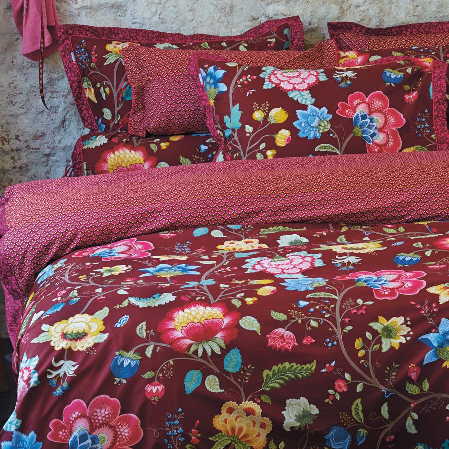 pip studio bettw sche floral fantasy brown online kaufen. Black Bedroom Furniture Sets. Home Design Ideas