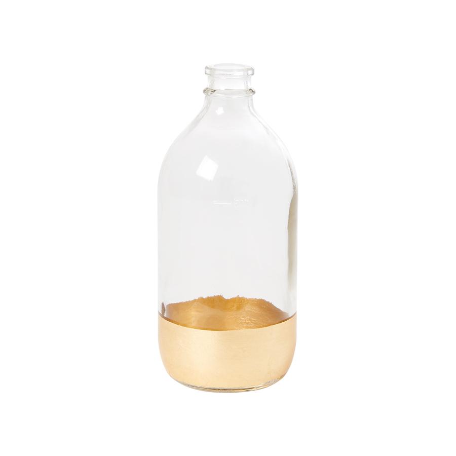 rice glas vase gold large online kaufen emil paula. Black Bedroom Furniture Sets. Home Design Ideas