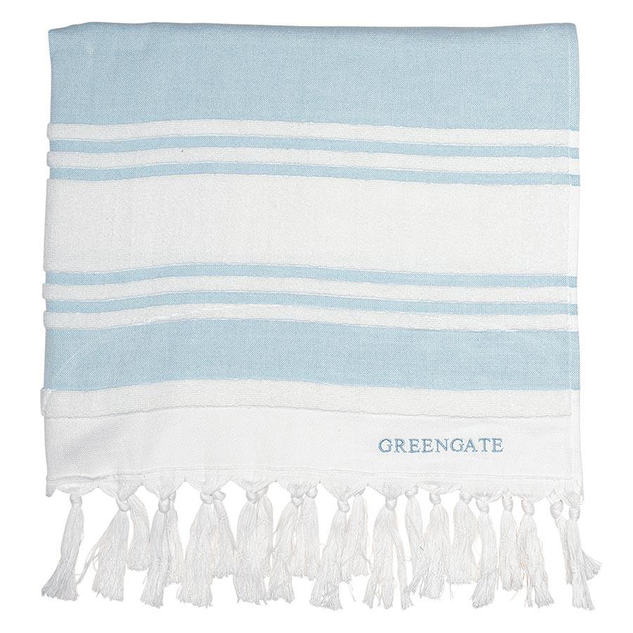 greengate handtuch hammam stripe mint online kaufen emil paula. Black Bedroom Furniture Sets. Home Design Ideas