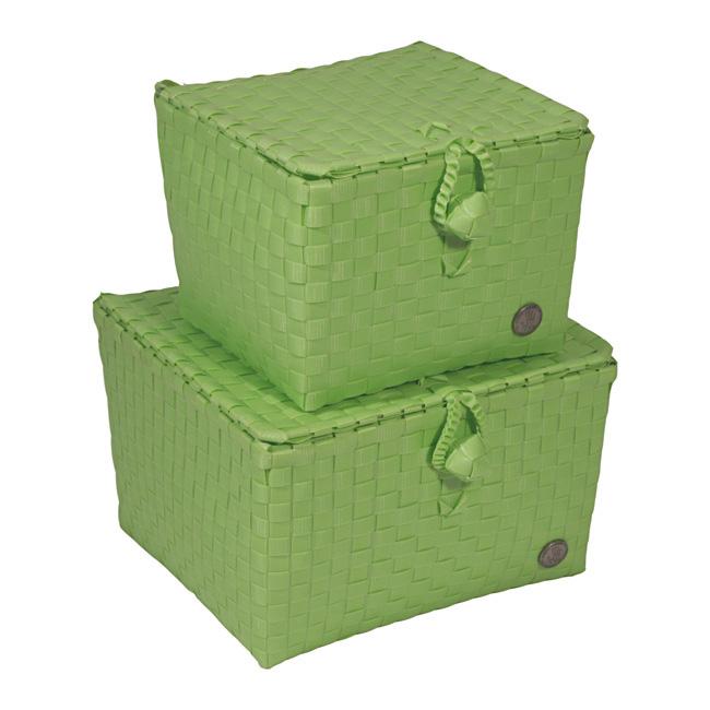 handed by korb mit deckel pisa apfelgr n gr 2 online kaufen emil paula. Black Bedroom Furniture Sets. Home Design Ideas
