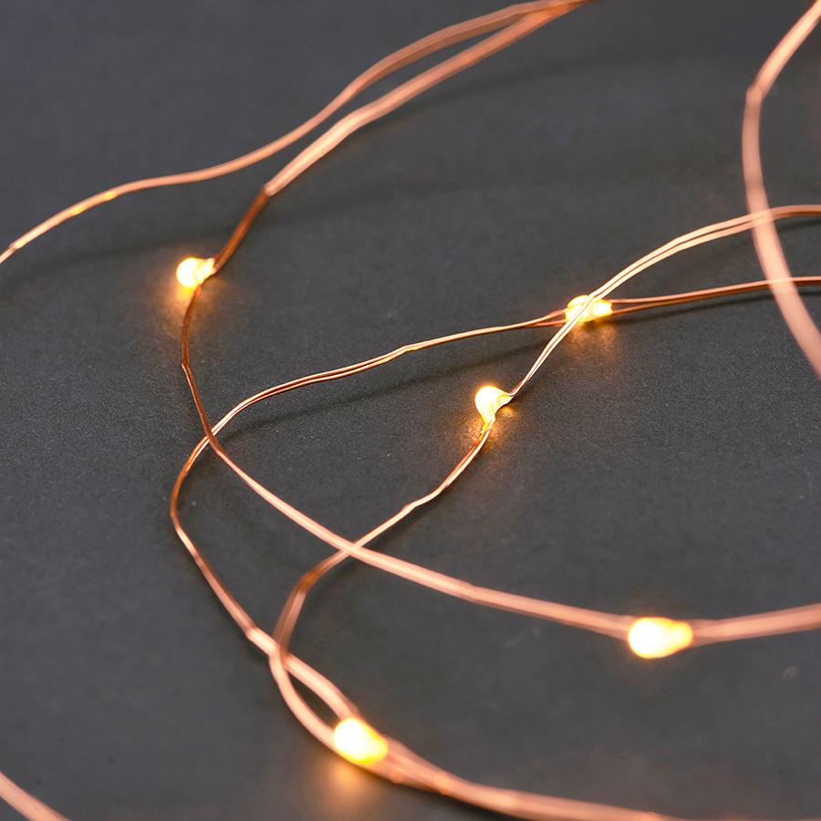 House Doctor Lichterkette 10 m Kupfer online kaufen | Emil & Paula