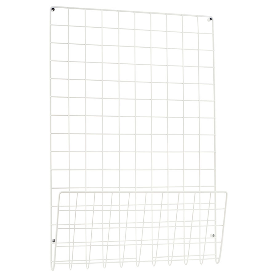 house doctor pinnwand mesh wei online kaufen emil paula. Black Bedroom Furniture Sets. Home Design Ideas