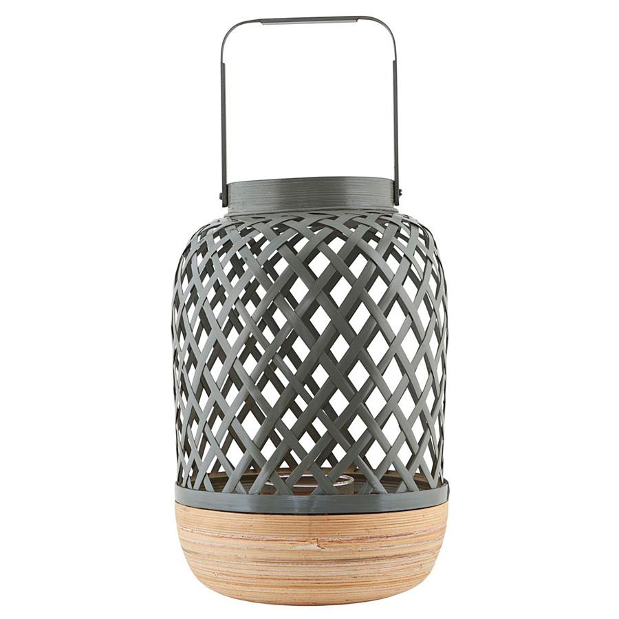 house doctor laterne breeze grau gro online kaufen emil. Black Bedroom Furniture Sets. Home Design Ideas