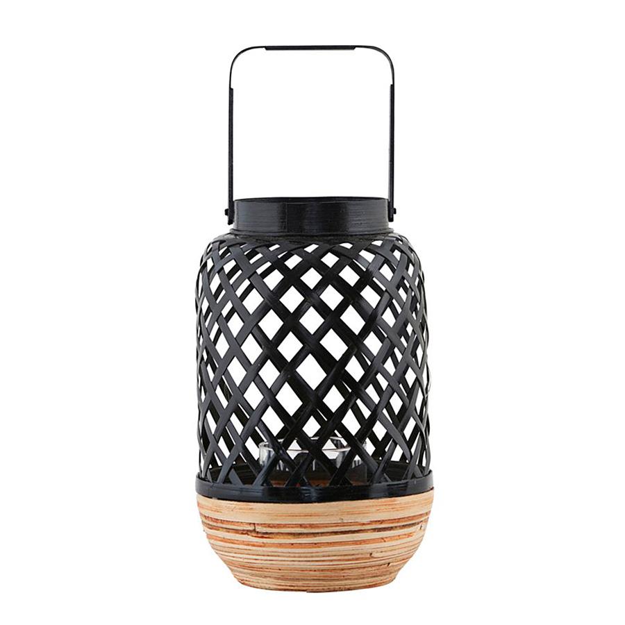 house doctor laterne breeze schwarz online kaufen emil. Black Bedroom Furniture Sets. Home Design Ideas