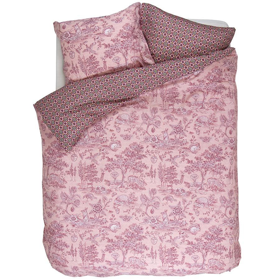 pip studio bettw sche hide and seek pink online kaufen. Black Bedroom Furniture Sets. Home Design Ideas