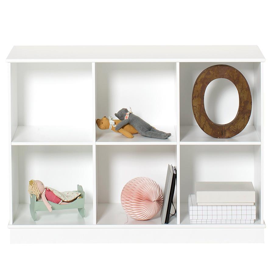 Oliver Furniture Wood Stand-Regal 3 x 2 Horizontal mit Sockel online ...