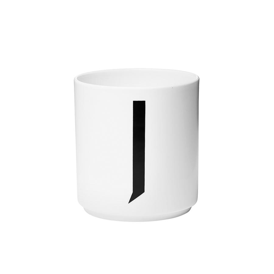 design letters porzellan becher j online kaufen emil paula. Black Bedroom Furniture Sets. Home Design Ideas