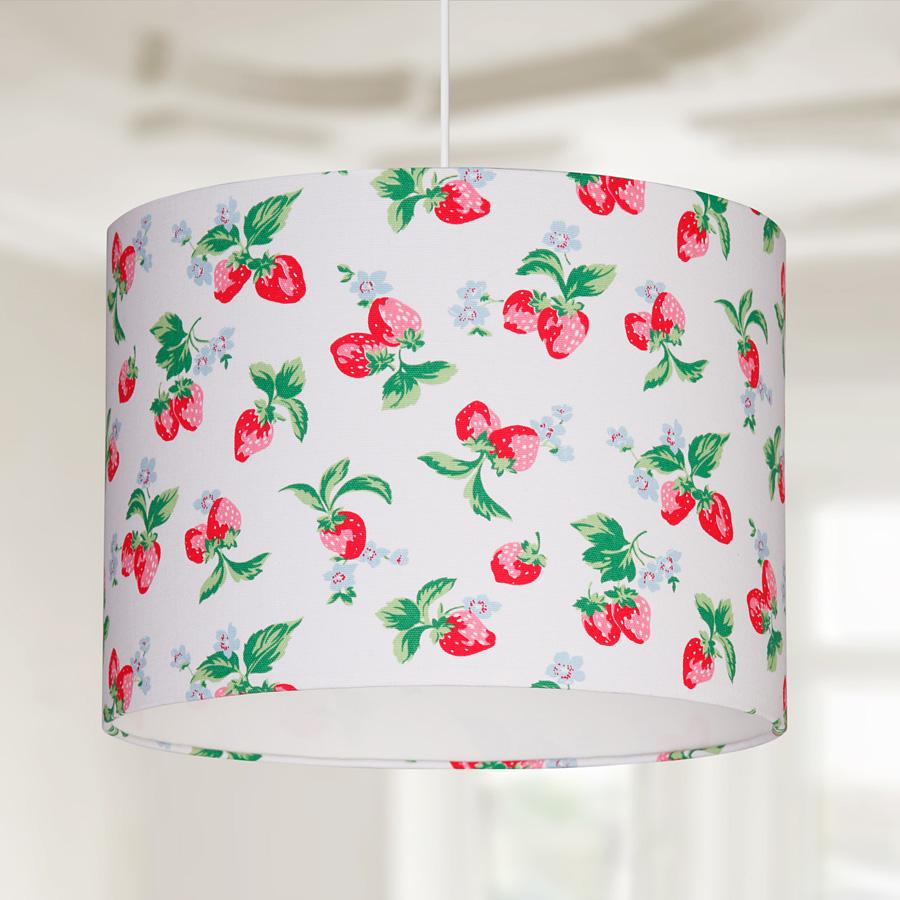 lampenschirm strawberry online kaufen emil paula. Black Bedroom Furniture Sets. Home Design Ideas